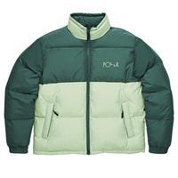 POLAR SKATE CO. COMBO PUFFER  Green / Seafoam Green