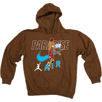 PARADISE CAN'T TOUCH THIS HOODIE BROWN