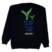 STINGWATER Groe Together Black Sweater