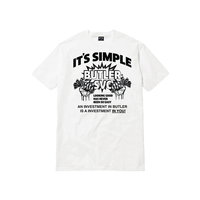BUTLER FOR PROFIT T-SHIRT WHITE