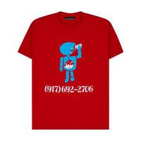 CALL ME 917  Aidan Mackey Pro Tee Red