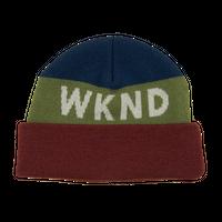 WKND Collision Watchcap Beanie- Red Cuff