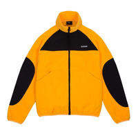 DIME POLAR FLEECE TRACK JACKET -  GOLD & BLACK