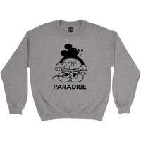 PARADISE NYC MICKEY MOON CREW GREY