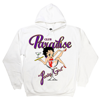 PARADISE PARTY GIRL HOODIE WHITE