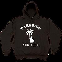 PARADISE LIBERTY PALM HOODIE BLACK