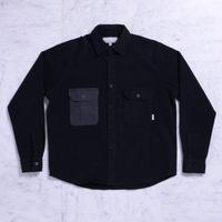 QUASI CM Long Sleeve Button Up Shirt [Black]
