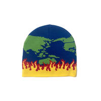 IGGY WORLD ON FIRE BEANIE