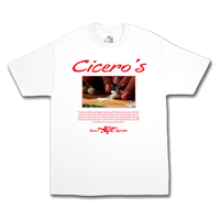 COME SUNDOWN CICERO'S S/S WHITE