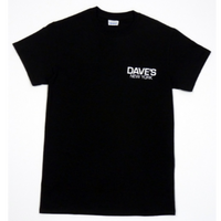 Dave's New York Short Sleeve Work Logo T-Shirt – Black