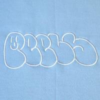 Peels Graffiti Logo Crew Neck Light Blue