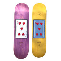 CARPETCOMPANY 99 HEARTS DECK Blue 8.25