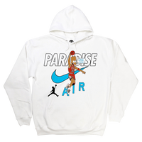 PARADISE CAN'T TOUCH THIS HOODIE WHITE