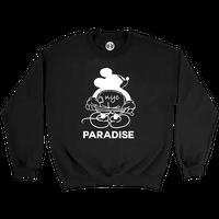 PARADISE NYC MICKEY MOON CREW BLACK