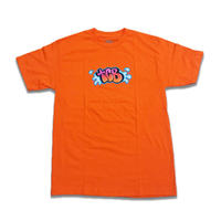 Tall Can Boyz BUBBLE LETTERS TEE ORANGE