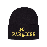 PARADISE.NYC LIBERTY PALM GOLD SKULLY Black