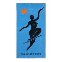 POLAR SKATE CO NO COMPLIES FOREVER BEACH TOWEL BLUE