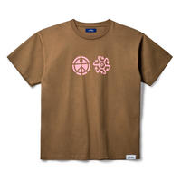 RASSVET Print Logo Tee - Brown
