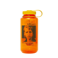 ALLTIMERS  HEARTBREAK NALGENE BOTTLE ORANGE