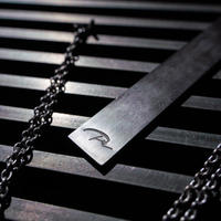 【PRYplus】3way Plate Necklace (silver)