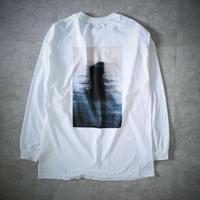 back print loose T-shirt