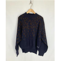 leopard reversible knit