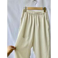 linen tone slub  pants