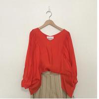 dolman gather blouse