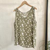 print tank top blouse