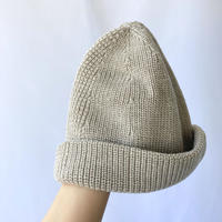 wool×linen knit cap