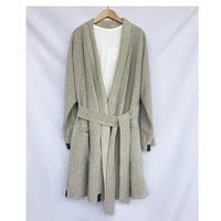 fleece gown coat