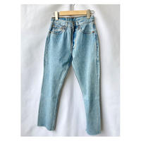 Levis501 remake taperd denim pants 27size