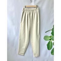 gather tapered pants