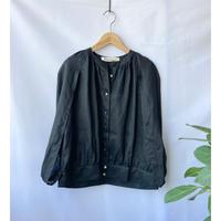 linen cocoon blouse