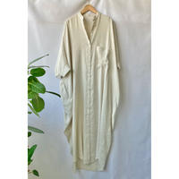 linen rayon shirt one-piece