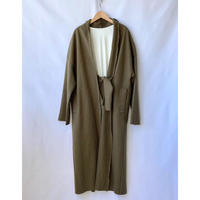 wool gown coat
