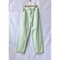 color denim pants
