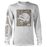 PUBG Lv3ヘルメットロングスリーブTシャツ
