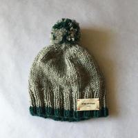 ニット帽子 ブルーライン  (18-11403)