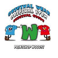 【PRINTSHOP WOODYS】オリジナルTシャツ/プリント価格表