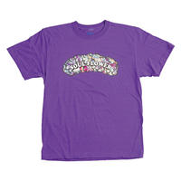 【Yossy from SOUL FLOWER】PuffPuff Flower TEE  (VIOLET PURPLE)