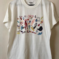 【コラボ】yokai_puff_cloud TEE  (VANILLA WHITE)