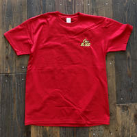 【TAPPOI ORIGINAL BRAND】ONE BLOOD Grafica Embroidery TEE(RED)