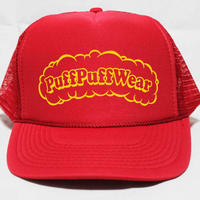 Puff Puff MESH CAP (RED/YELLOW)