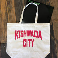 【KISHIWADA CITY】KISHIWADA CANVAS TOTE ECOBAG(NATURAL)