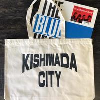 【KISHIWADA CITY】CANVAS TOTE ECOBAG(NATURAL/BLACK)