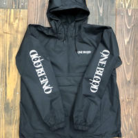 ONE BLOOD Windbreaker Anorak Jacket (BLACK)