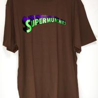 SUPER MUNCHIES TEE(BROWN)