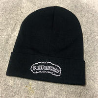 【RENEWAL】Puff Puff KNIT CAP(BLACK)