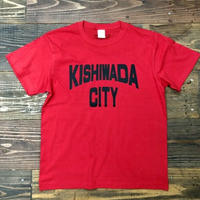 【KISHIWADA CITY】KISHIWADA CITY REP TEE(RED)